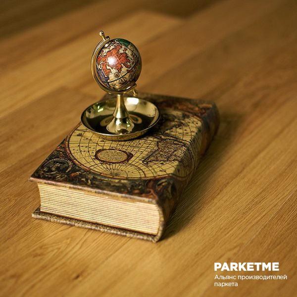 Паркетная доска Паркетная доска Дуб натур от Amberwood