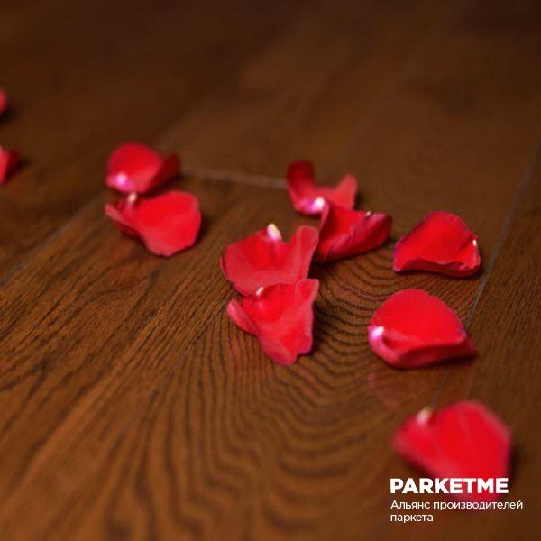 Паркетная доска Паркетная доска Дуб шоколад от Amberwood