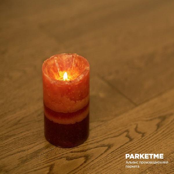 Паркетная доска Паркетная доска Дуб светлый орех от Amberwood