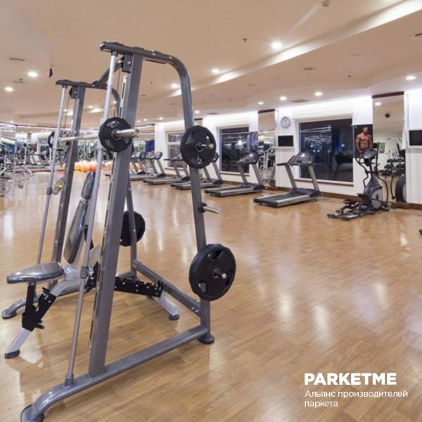 Спортивный паркет Спортивный паркет Дуб Family sport treining (Фэмили спорт тренинг) от Barlinek