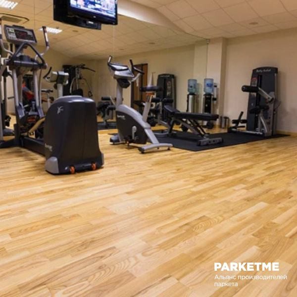 Спортивный паркет Спортивный паркет Бук Family sport treining (Фэмили спорт тренинг) от Barlinek