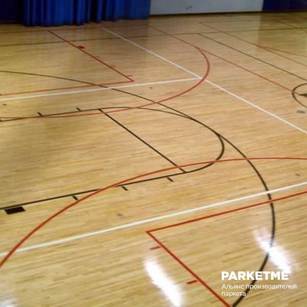 Спортивный паркет Спортивный паркет Бук Family sport squash (Фэмили спорт сквош) от Barlinek