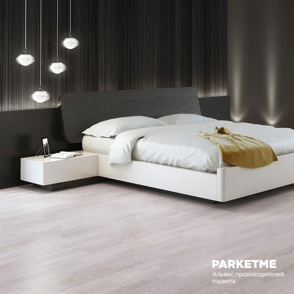 Паркетная доска Паркетная доска Дуб Panna Cotta 180mm (Панна Котта 180мм) от Barlinek