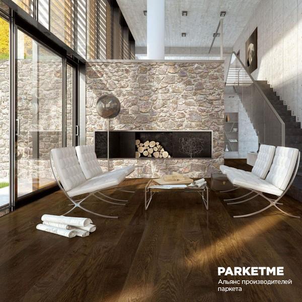Паркетная доска Паркетная доска Дуб Balzamico (Бальзамико) от Barlinek