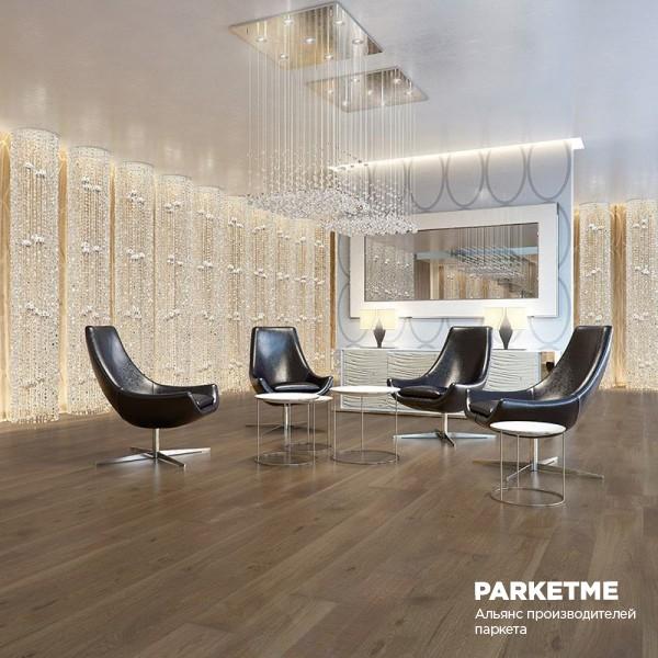Паркетная доска Паркетная доска Дуб Olive Crostini (Олив Кростини) от Barlinek