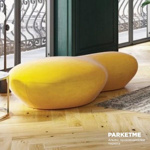 Паркетная доска Паркетная доска Дуб Grand Canion Herringbone от Barlinek