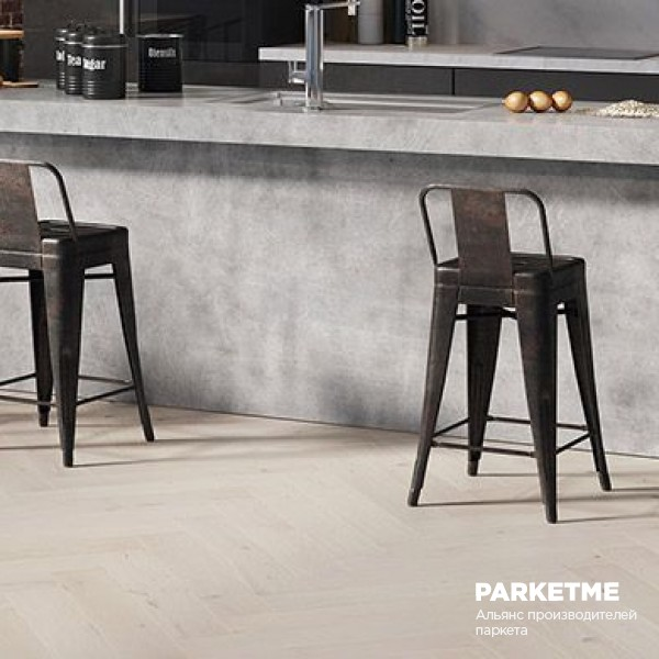 Паркетная Доска Дуб Cappuccino Классическая Елка от Barlinek