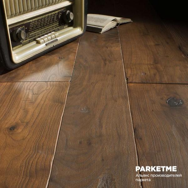 Массивная доска Массивная доска Американский орех (рустик) от Bassano Parquet