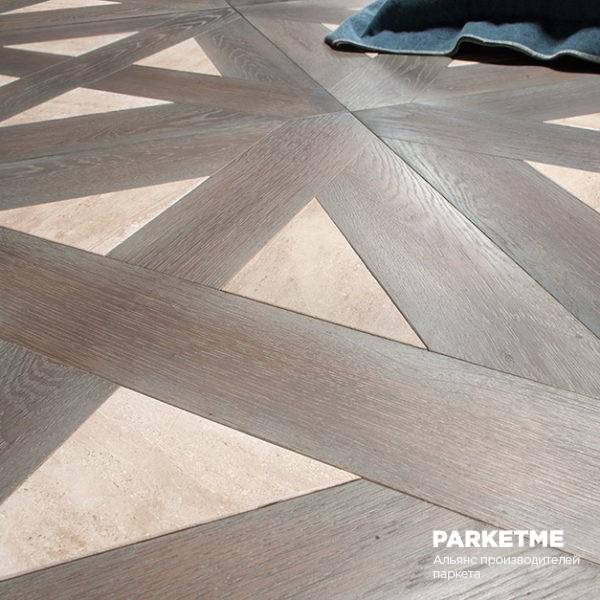 Модульный паркет Oak and stone от Bassano Parquet