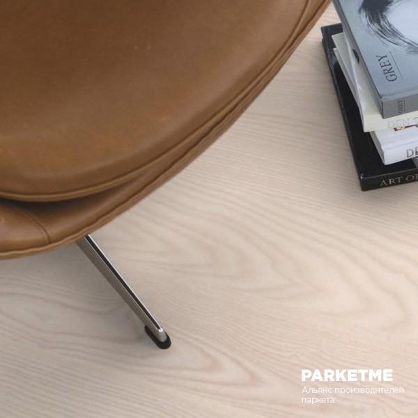 Паркетная доска Паркетная доска Ясень белый Polar (Полярный) от Boen