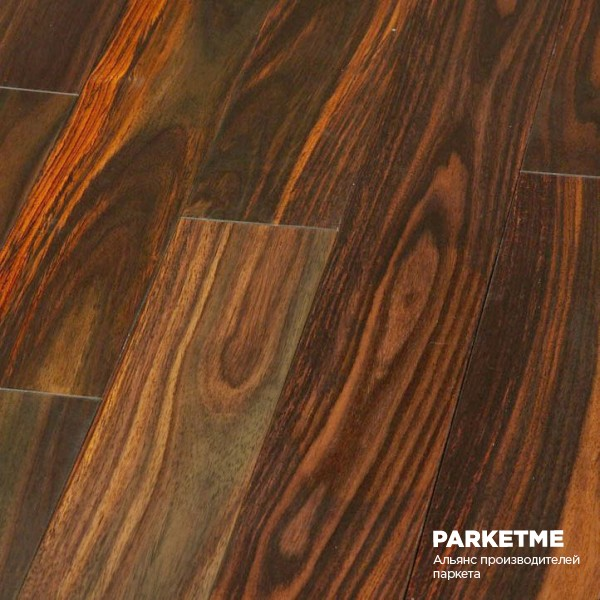 Паркетная доска Паркетная доска Palisandr Lightwood Plank (Палисандр Лайтвуд Планк) от Golvabia
