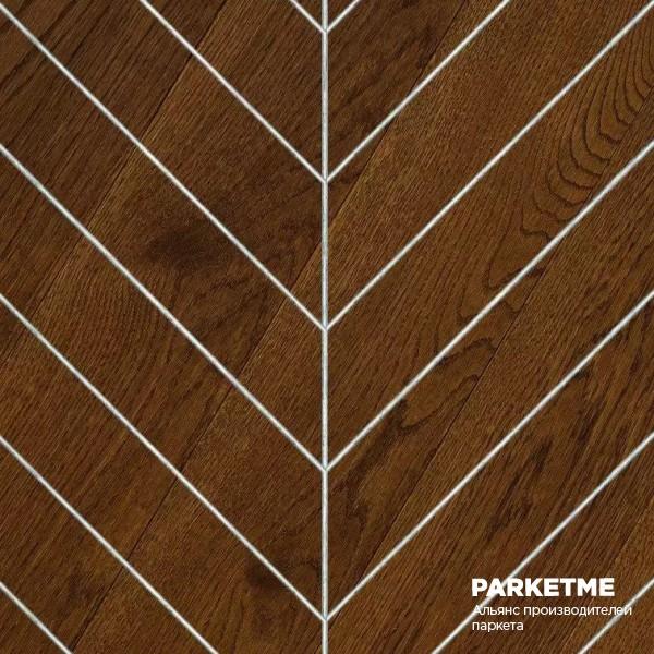 Массивная доска Массивная доска Французская елка Дуб Marron (Марон) от Hajnowka