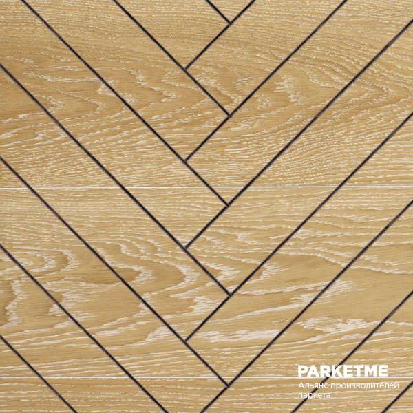 Массивная доска Массивная доска Классическая елка Дуб Snowdrop (Сноудроп) от Hajnowka
