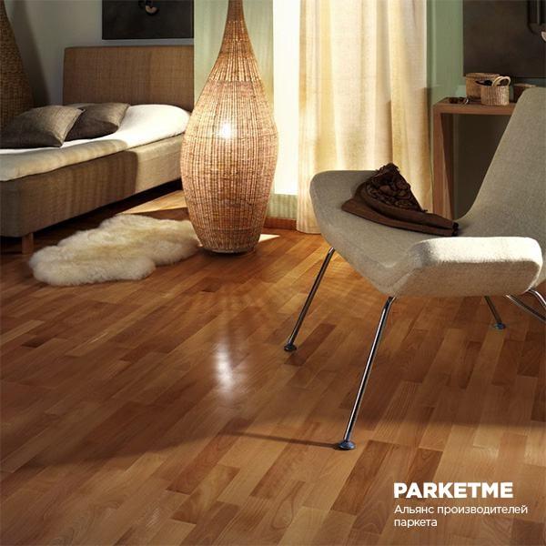 Паркетная доска Паркетная доска Дуб Caramel (Карамель) от Kahrs