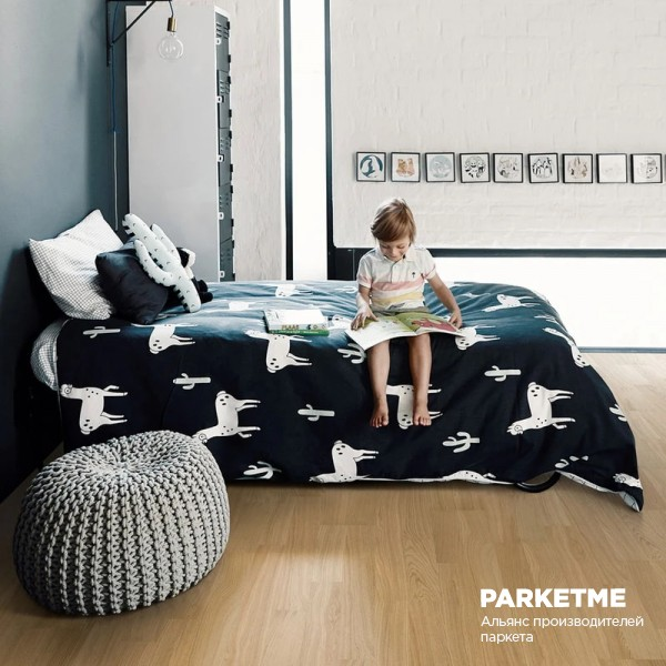 Паркетная доска Pure Oak 2-strip Kahrs  от Kahrs