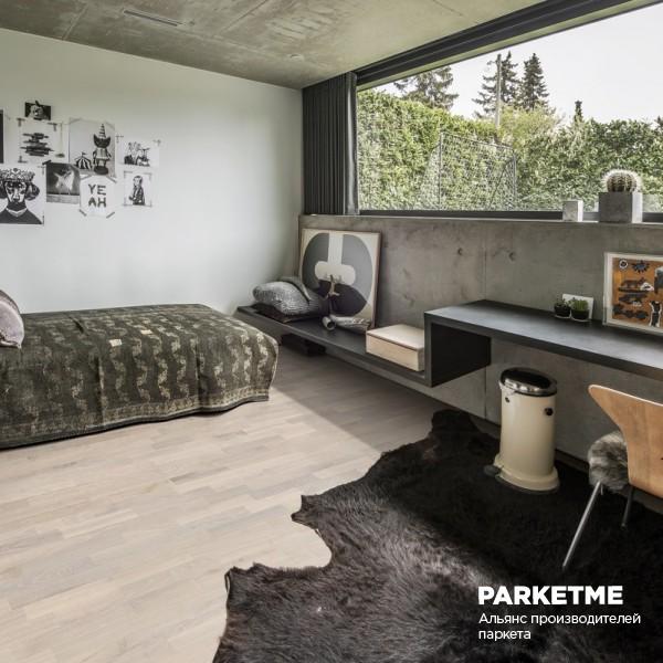 Паркетная доска Паркетная доска Дуб Иней (Rime) от Kahrs