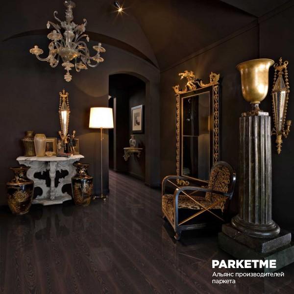 Паркетная доска Паркетная доска Ясень Черная медь (Black Copper) от Kahrs
