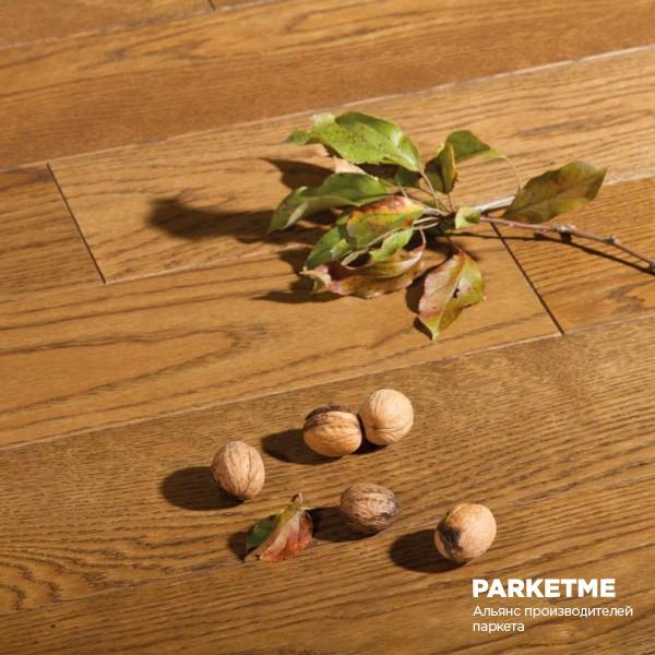 Трехслойная массивная доска Дуб Balmoral Селект Grandiose Trio от Matraparkett