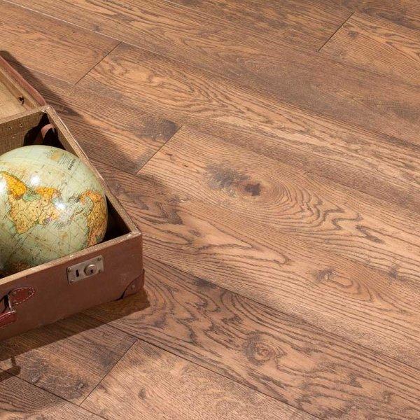 Трехслойная массивная доска Дуб COTTAGE BROWN Provence от Matraparkett