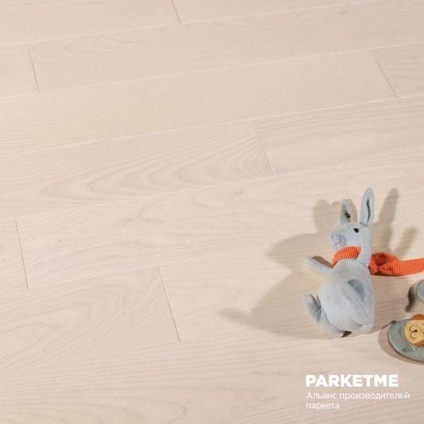 Массивная доска Ясень SOUL Селект Style Solid от Matraparkett