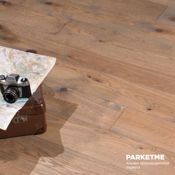 Массивная доска COTTAGE GREY Натур Provence Solid от Matraparkett