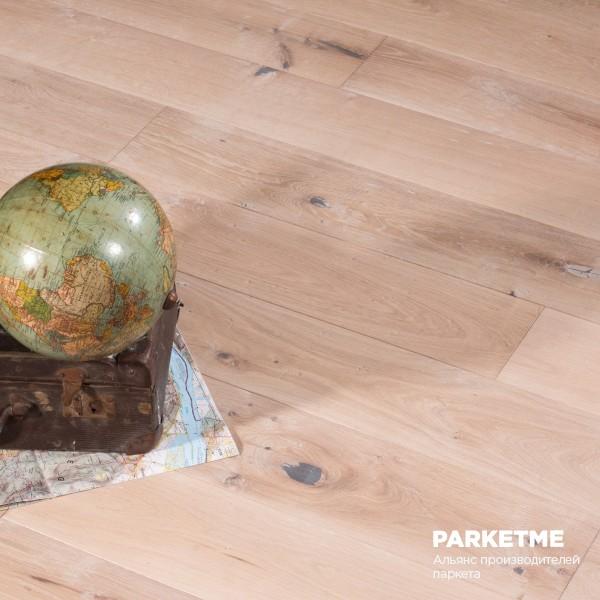 Массивная доска COTTAGE WHITE Селект Provence Solid от Matraparkett