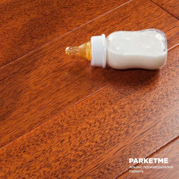 Массивная доска Массивная доска Каслин цвета Тик от Parketoff