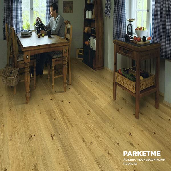 Паркетная доска Паркетная доска Дуб Cottage Premium (Коттедж Премиум) от Polarwood