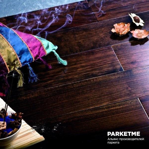 Массивная доска Массивная доска Дуб Эбен от Royal Parket