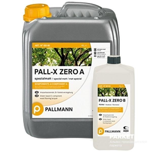Сопутствующие товары Pall-X Zero мат. 4+1л от Pallmann