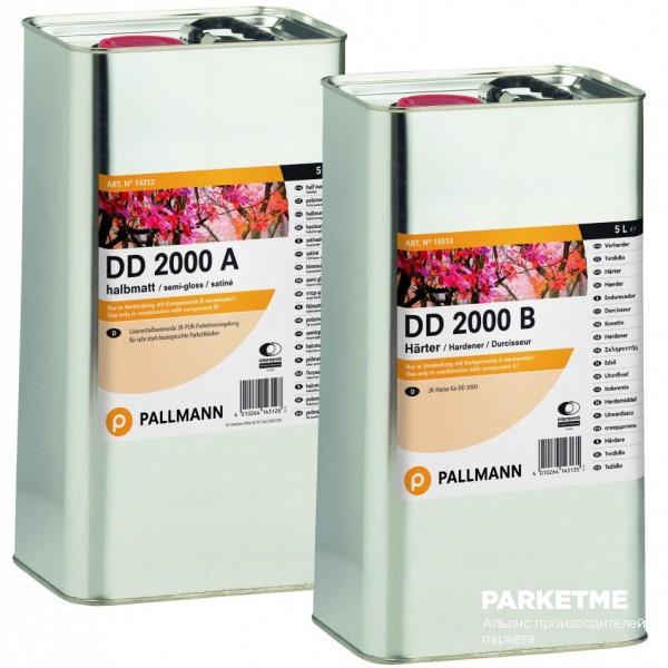 Сопутствующие товары DD 2000 A/B глянец 2,5+2,5л от Pallmann