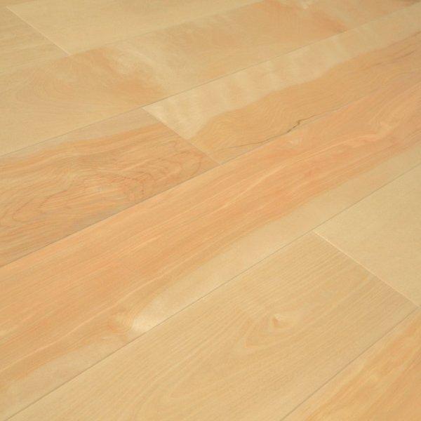 Массивная доска Массивная доска Береза желтая Бесцветная Натур от Amberwood