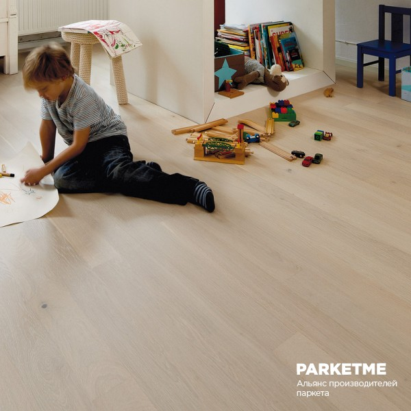 Инженерная доска Oak Farina 14 Cleverpark Bauwerk oil brushed от Bauwerk