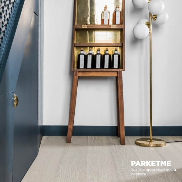 Инженерная доска Oak Slightly Smoked Nebbia 15 Villapark True Colours Edition Bauwerk от Bauwerk