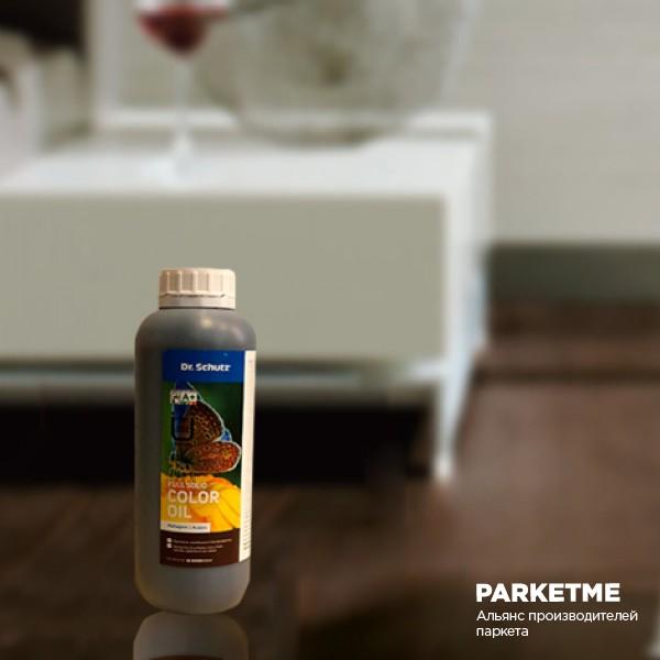 Средства по уходу Цветное масло для паркета Cherry от DrSchutz
