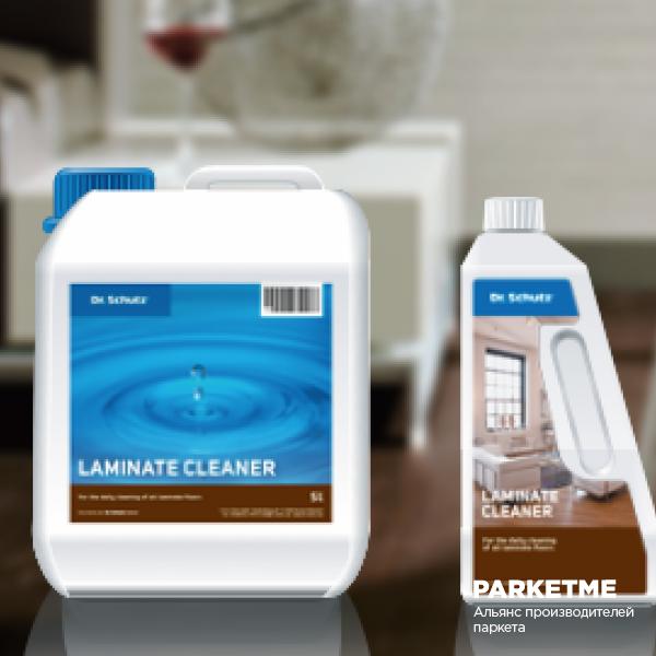 Средства по уходу Очиститель для ламината (Регулярный уход) от DrSchutz