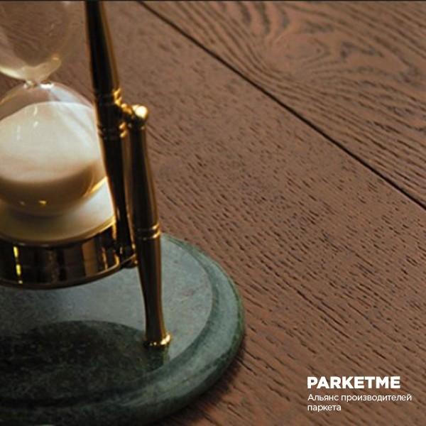 Паркет Французская ёлка Коричневый Браш лак матовый от Esse