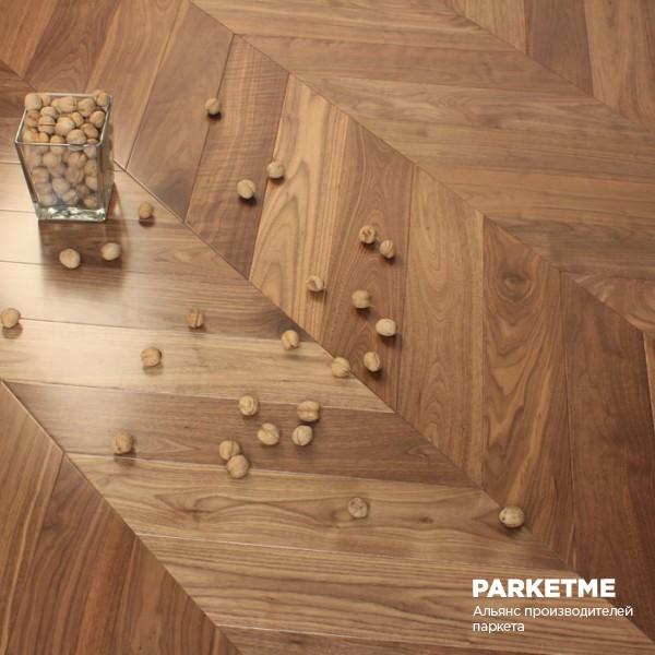 Паркет Французская ёлка Американский Орех от Esse