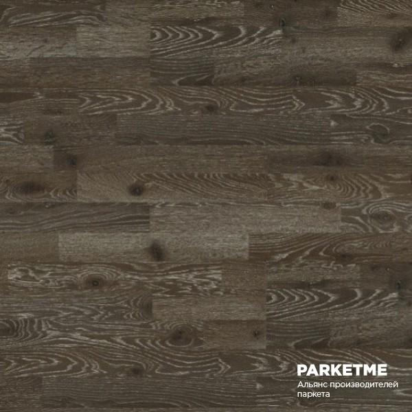 Паркетная доска Дуб Бордо 3-х полосная состаренная от Farecom (Фареком) от Farecom