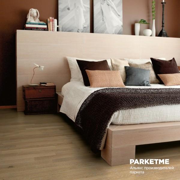 Паркетная доска Паркетная доска Дуб Генуя з-х полосный от Farecom (Фареком) от Farecom