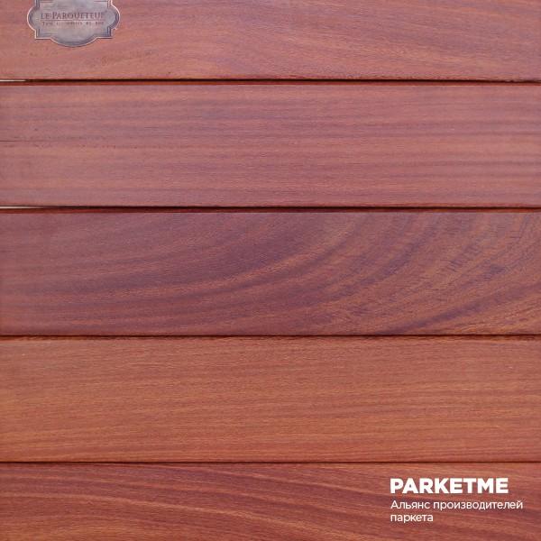 Террасная доска Кумару красный Супер Прайм от Le Parqueteur