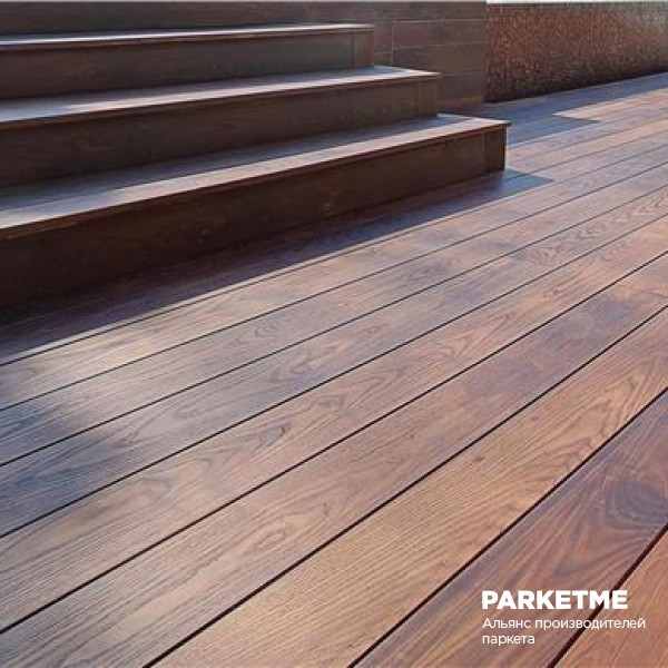 Террасная доска Термоясень от Le Parqueteur