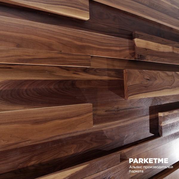 Стеновые панели Стеновые панели Орех Натур 3D от Ribadao (Португалия)
