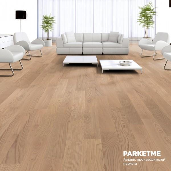 Паркетная доска Дуб Кашмир (Kaschmir) селект Comfort ProActive+ от Weitzer Parkett