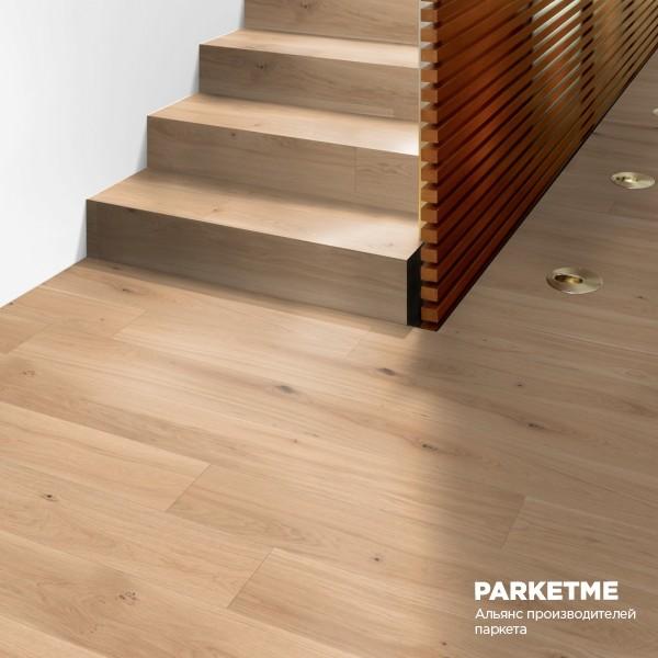 Паркетная доска Дуб Пюр (Pure) Comfort ProActive+ от Weitzer Parkett