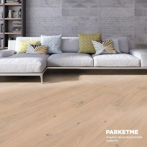 Паркетная доска Дуб Кашмир натур браш Charisma ProActive+ от Weitzer Parkett